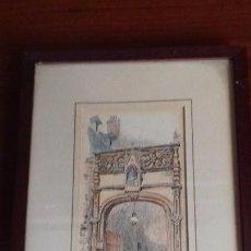 Arte: SERIE DE 3 LITOGRAFIAS. ROBIDA. PARIS 1880. Lote 110625051