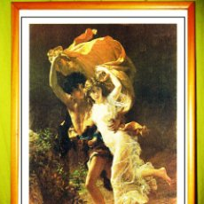 Arte: LAMINA - EL FRENESI - OBRA DE PIERRE AUGUSTE .IMPRESION DE LAS PROVINCIAS 1991 TAMAÑO 45 X 32,5 CMS. Lote 110758739