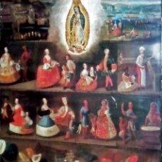 Arte: CARTEL LITOGRAFIA DE OBRA - LAS CASTAS - DE -LUIS DE MENA - MUSEO AMERICA DE MADRID .TAMAÑO 80X65 . Lote 111738991