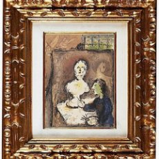 Arte: MARC CHAGALL (1887-1985) ESTUDIO DE PINTOR, ODYSSEY, LITOGRAFÍA MOURLOT. Lote 111803191