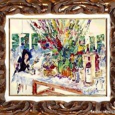 Arte: LEROY NEIMAN (AMERICAN 1921-2012) - CALIFORNIA CUISINE, LITOGRAFÍA SOBRE PAPEL. Lote 112203687