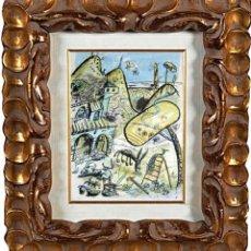 Arte: JAVIER MARISCAL (1950), GRANJINUS, LITOGRAFÍA SOBRE PAPEL. Lote 112207895