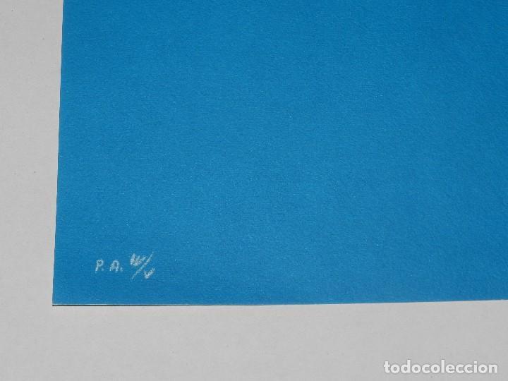 Arte: (M) LITOGRAFIA DE JOAN BROSSA - MERCEDES P.A. W/V , FIRMADO BROSSA , 50 X 38 CM, BUEN ESTADO - Foto 3 - 113181483