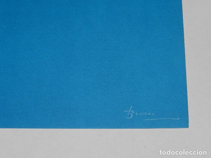 Arte: (M) LITOGRAFIA DE JOAN BROSSA - MERCEDES P.A. W/V , FIRMADO BROSSA , 50 X 38 CM, BUEN ESTADO - Foto 4 - 113181483