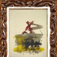 Arte: ANTONI TAPIES - ALS MESTRES DE CATALUNYA. LITOGRAFÍA, SELLO SALA GASPAR. Lote 125163094