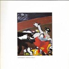 Arte: LAMINA LITOGRAFIA DEL PINTOR RIPOLLES- CASTELLÓN AÑO 1932 - TITULO TAUROMAQUIA - VER FOTOS. Lote 113226087