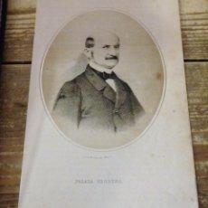 Arte: 1870 LITOGRAFIA DE POSADA HERRERA, REALIZADO EN MADRID EN LA LIT. DE N. GONZÁLEZ. 24X15 CMS. Lote 114204247