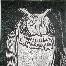 Arte: LITOGRAFIA ORIGINAL DE CLAUDE COLLET - FIRMADA A MANO POR ARTISTA - 70 X 50 CM . Lote 114817199