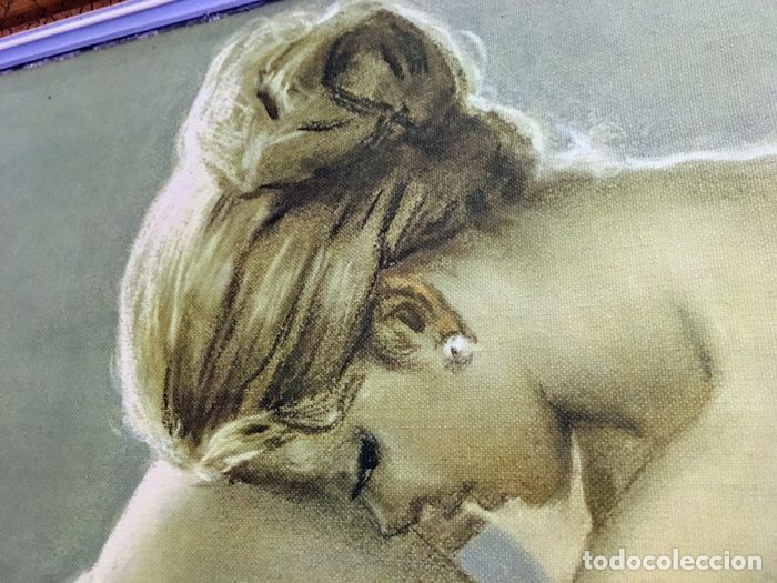 Arte: MUJER POSANDO DESNUDA - Foto 2 - 115739587