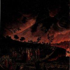 Arte: ERUPCION VESUBION VULCANOLOGIA CAMPI PHLEGRAEI WILLIAM HAMILTON GEOLOGIA. Lote 116618519