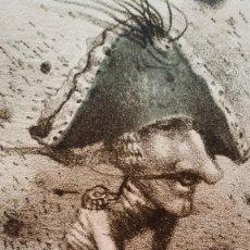 Arte: LITOGRAFÍA SOBRE EL BARON DE MÜNCHHAUSEN, FIRMADA Y NUMERADA. Lote 116636363