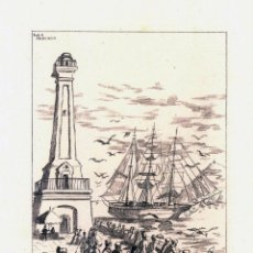 Arte: LITOGRAFIA LOLA ANGLADA – EL ROSAURA - 1949. Lote 116691247