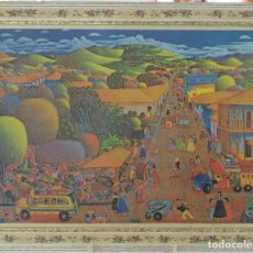 Arte: ROQUE ZELAYA, LITOGRAFÍA LA CIUDAD DE LAS COLINAS. Lote 116800919