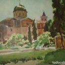 Arte: LORCA MURCIA IGLESIA DE SAN MATEO LITOGRAFIA 1925 POR V. H. BAILLEY. Lote 116855771