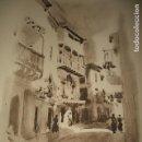 Arte: BAZA GRANADA UNA CALLE LITOGRAFIA 1925 POR V. H. BAILLEY. Lote 116855963