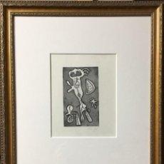 Arte: LITOGRAFÍA DE JOAN MIRÓ FIRMADA A MANO. Lote 117102987
