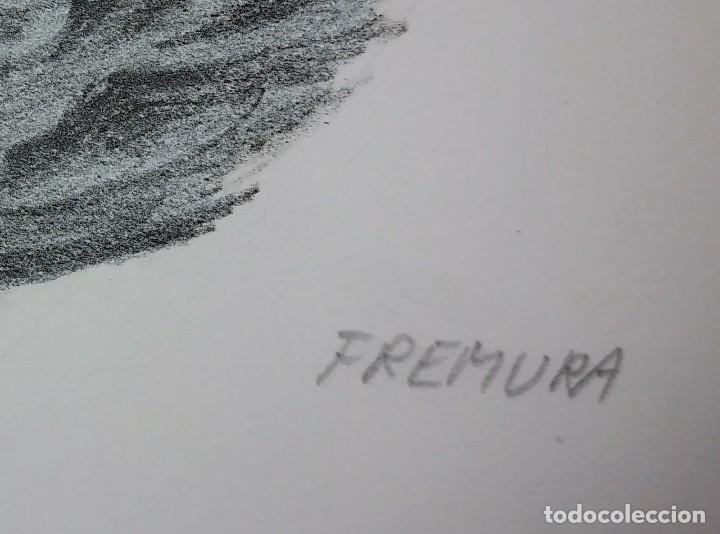 Arte: Alberto Fremura Litografía numerada y firmada 50x70 - Foto 2 - 117304671
