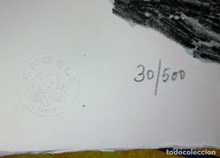 Arte: Alberto Fremura Litografía numerada y firmada 50x70 - Foto 3 - 117304671