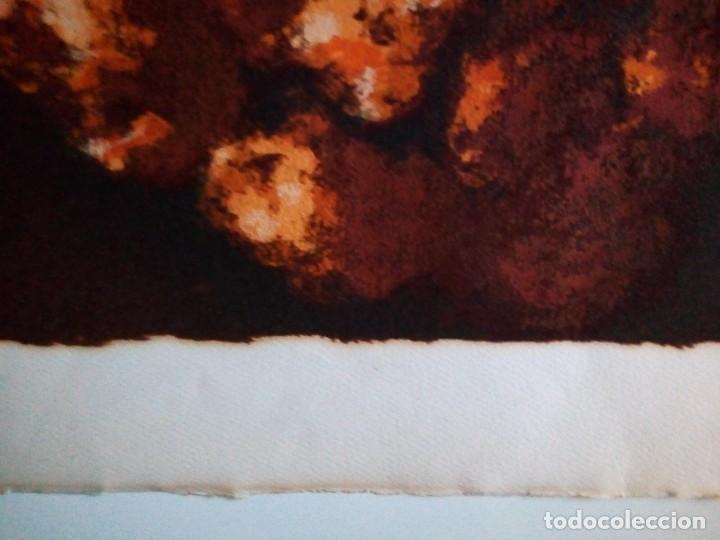 Arte: LITOGRAFIA ORIGINAL en relieve FIRMA a LAPIZ autor : CARMEN AGUADE CORTES-TITULO COMPOSICIÓN.- - Foto 4 - 117470131
