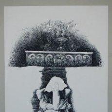 Arte: PACO HERNÁNDEZ (MELILLA 1932- MÁLAGA 2012)LITOGRAFÍA DE 37X52 AÑO 1976 FIRMADA LÁPIZ 171/250.. Lote 118391891