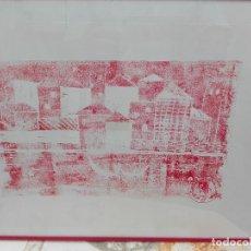 Arte: PAISAJE ARTÍSTICO MEDIDAS 50 X 36. Lote 118606255