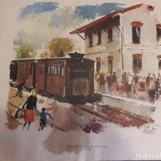 Arte: FERROCARRIL DE TORTOSA A LA CAVA 1927-1967. Lote 119282027