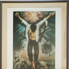 Arte: PACO MAIRELES. LITOGRAFÍA, FIRMADA A LÁPIZ POR EL ARTISTA. 1972. Lote 119581899