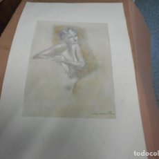Arte: LITOGRAFIA NUMERADA Y FIRMADA A MANO CON SELLO ARCHIVO DE ARTE MIDE 49 POR 32 CM. Lote 120114095