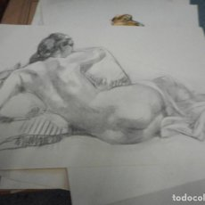Arte: LITOGRAFIA NUMERADA Y FIRMADA A MANO CON SELLO ARCHIVO DE ARTE MIDE 49 POR 32 CM. Lote 120114667