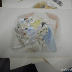 Arte: LITOGRAFIA NUMERADA Y FIRMADA A MANO CON SELLO ARCHIVO DE ARTE MIDE 49 POR 32 CM. Lote 120115031
