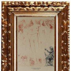 Arte: SALVADOR DALI - LE JUGEMENT DE PARIS - MITHOLOGIE-, LITOGRAFÍA EN PAPEL. Lote 120295063
