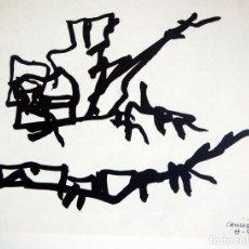 Arte: EDUARDO CHILLIDA - LITOGRAFIA OFFSET 1977 . 34 X 24 CM.. Lote 120566119