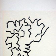 Arte: EDUARDO CHILLIDA - LITOGRAFIA OFFSET 1977 . 34 X 24 CM.. Lote 120566155