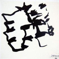 Arte: EDUARDO CHILLIDA - LITOGRAFIA OFFSET 1977 . 34 X 24 CM.. Lote 120566187