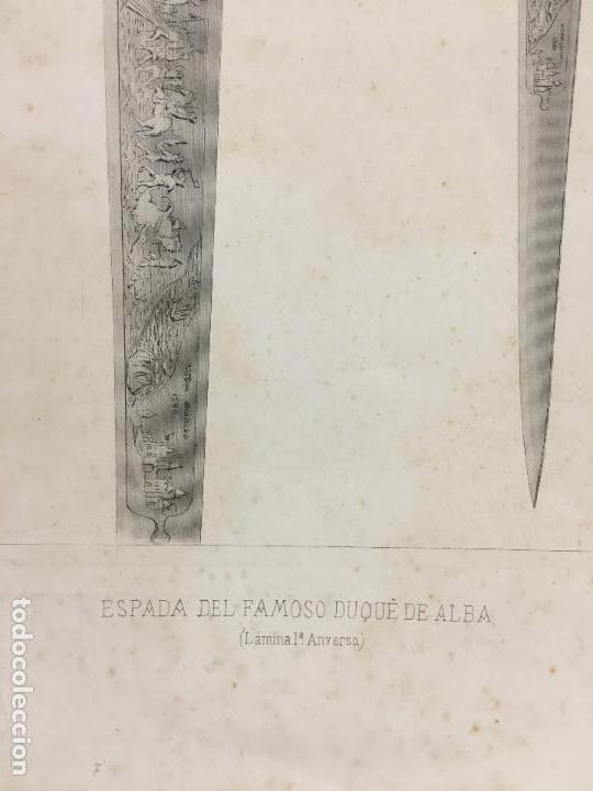 Arte: ESPADA DEL FAMOSO DUQUE DE ALBA - MEDIDA 47X34 CM - Foto 2 - 120834543