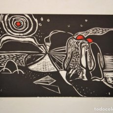 Arte: LITOGRAFÍA ORIGINAL IRAOLA. Lote 121049427