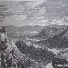 Arte: ROMANOS EN ERISANA O AOSA EN SON DE GUERRA . SERRA PAUSAS. Lote 121963943