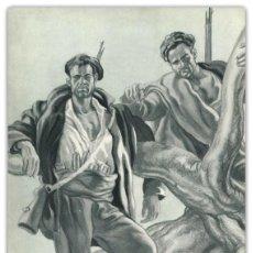 Arte: LITOGRAFIA ORIGINAL S XX- GUERRA CIVIL ESPAÑOLA - BANDO NACIONAL - SAENZ DE TEJADA - . Lote 122498819