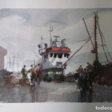 Arte: LÁMINA DE JULIO SOLÍS. Lote 172257980