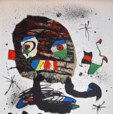 Arte: JOAN MIRO - LA CAIXA 75 AÑOS - LITOGRAFIA ORIGINAL FIRMADA Y NUMERADA POR ARTISTA. Lote 125198935