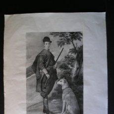 Arte: LITOGRAFÍA AGUATINTA - 1826-1829 . J. DE MADRAZO – LITÓGRAFO: JUAN ANTONIO LÓPEZ - (VER DESCRIPCIÓN). Lote 124551451