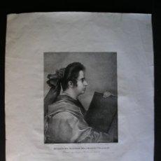 Arte: LITOGRAFÍA AGUATINTA - 1832-1836 . J. DE MADRAZO – LITÓGRAFO: HENRIQUE BLANCO - (VER DESCRIPCIÓN. Lote 124552167