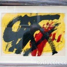 Arte: ANTONI TAPIES - LITOGRAFÍA ABSTRACTO. Lote 147821970