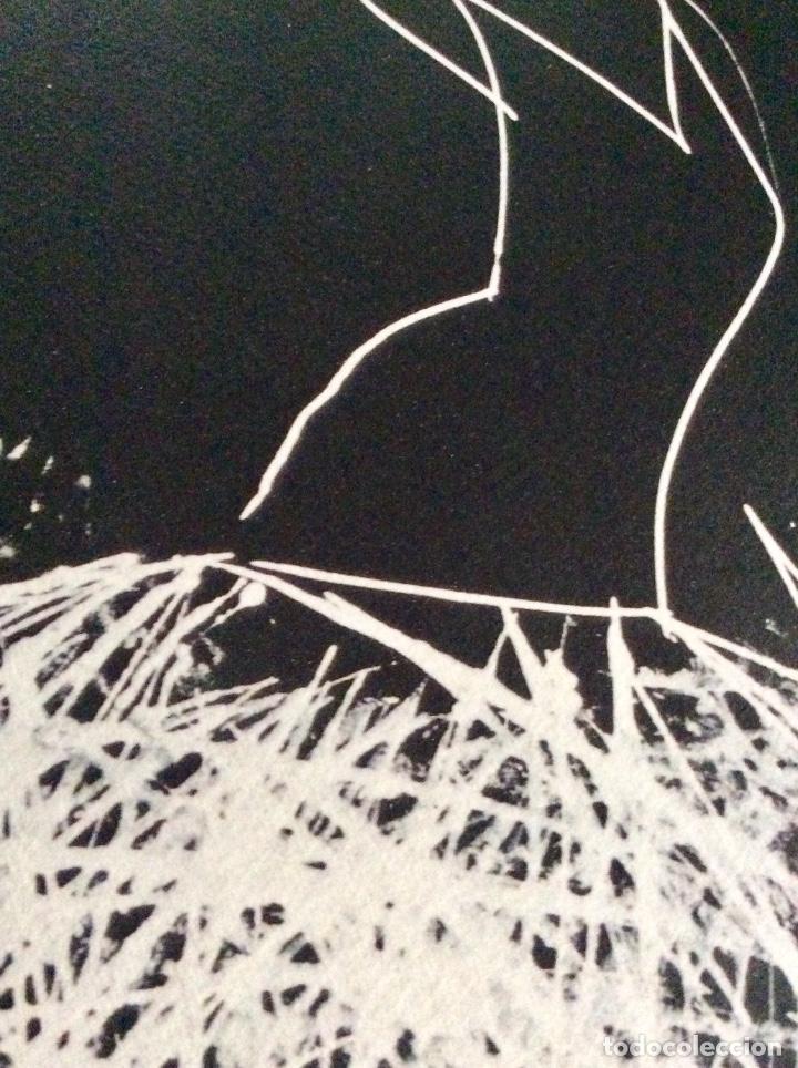 Arte: Envío 8€. Radiografía de tutú del artista JARR firmada PA a mano por el artista.mide 40x30cm - Foto 6 - 136000001