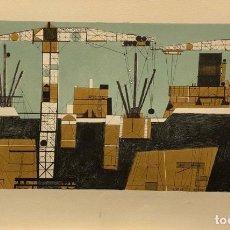 Art: FRANCESC TODÓ - LITOGRAFÍA SOBRE PAPEL - FIRMADA. Lote 126301603