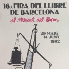 Arte: CESC, 50 X 30 CMS, FIRMADA Y NUMERADA. Lote 126381683