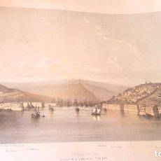 Arte: RUSIA - SEBASTOPOL - CRIMEA - 1850'S - GOUPIL - LITHOGRAPH - PANORÁMICA. Lote 126928699