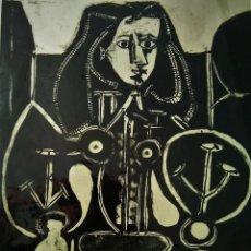 Arte: PABLO PICASSO. LITOGRAFÍA. LA FEMME AU FAUTEUIL Nº 4. Lote 127454739