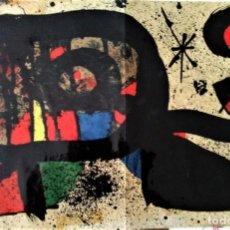 Arte: JOAN MIRÓ. LITOGRAFÍA L¨ OCELLA 1978. Lote 127461967
