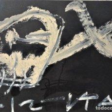 Arte: ANTONI TAPIES. LITOGRAFÍA 1986. Lote 127574303